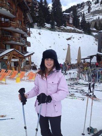 Brown Bear Lodge : Chloe on the Slopes