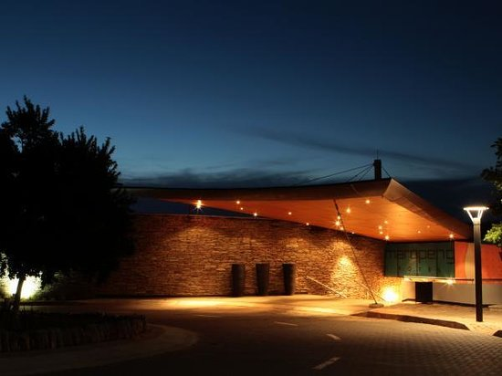 The entrance to the Maropeng Boutique Hotel