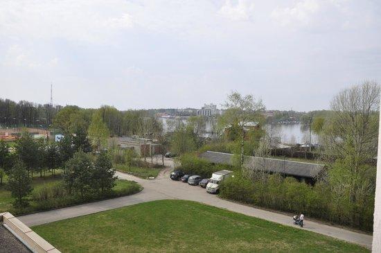 Park Inn Veliky Novgorod: Вид из номера