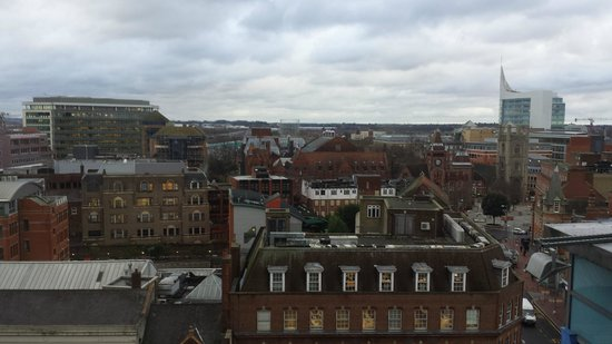 Novotel Reading Centre: View from the 10th floor