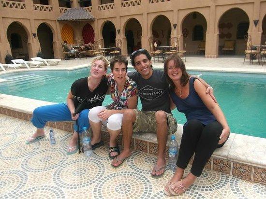 Nasser Palace: Zwembad