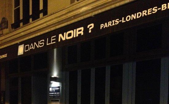 Dans le noirs picture of dans le noir paris tripadvisor for Dans ke noir