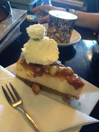 The Silva Spoon : Caramel Macadamia Cheesecake
