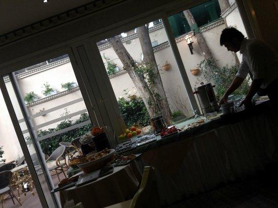 Kupeli Palace Hotel: Dinning room