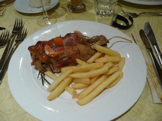 Hotel Rosalpina: Un piatto