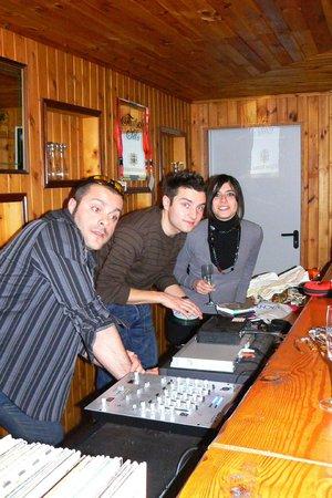 Hotel Rosalpina: L'angolo DJ
