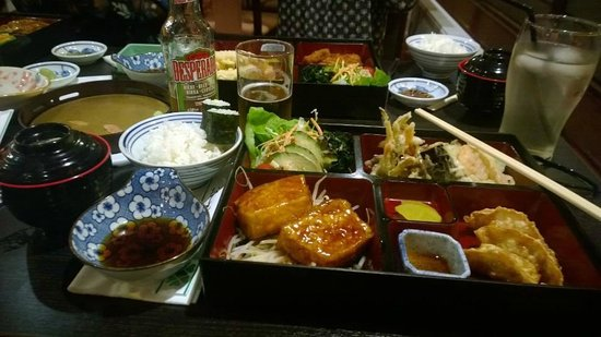 Koi Japanese Cuisine: Vegetarian Bento Box