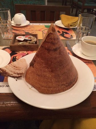 Le Sutra - The Indian Art Hotel : Delicious breakfast dosa