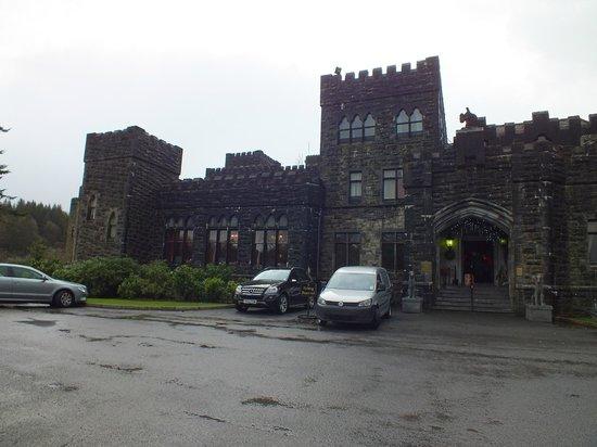 Ashford Castle: back of the castle