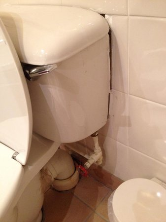 Copthorne Hotel Aberdeen: Toilet with missing sealant