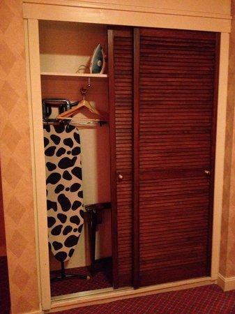 Copthorne Hotel Aberdeen: Closet