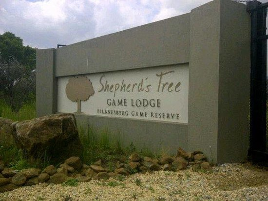 Shepherd's Tree Game Lodge : Entrance