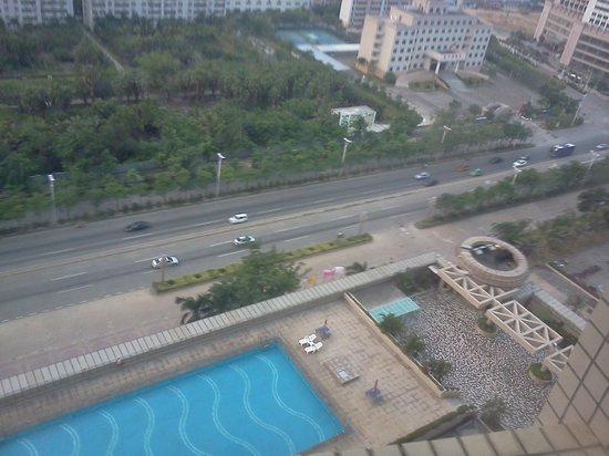 Crowne Plaza Zhanjiang: View from room