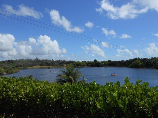 Sauipe Resorts : Centro Naútico com tiroleza, caiaques, pedalinhos..