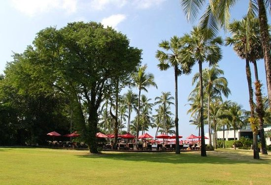 Ramada Khao Lak Resort: Garden and pool area