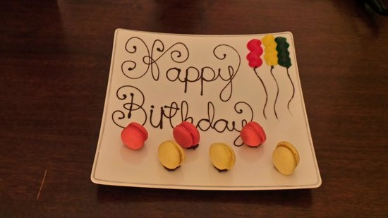The Balmoral Hotel: Birthday treat from the Balmoral