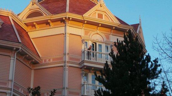 Disneyland Hotel : Our room on the top floor