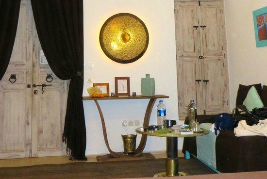 Riad Anyssates: Room decor