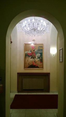 Hotel Saint George: Фойе