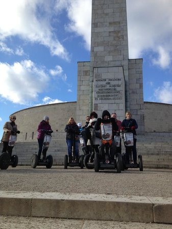 Segway Tours Budapest : Buda Castle Tour