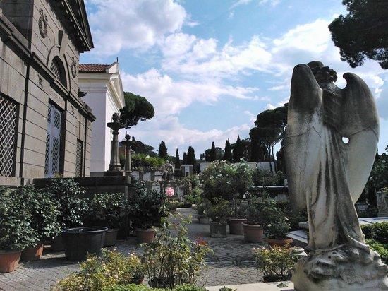Cimitero Monumentale del Verano: nei pressi della cappella