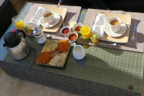 Riad Anyssates : Breakfast