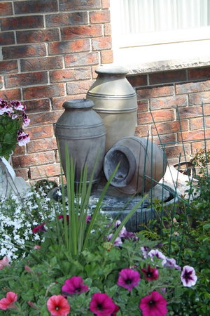 Tranquility Base Bed and Breakfast : Front Garden