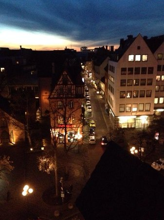 Hotel Drei Raben : The view from our room