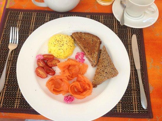 Holden Manz Country House : Frühstück bei Holden Manz