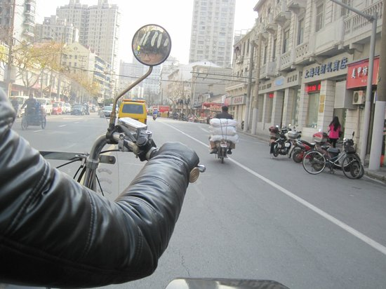 Insiders-Shanghai Private One-day Tour: during the ride
