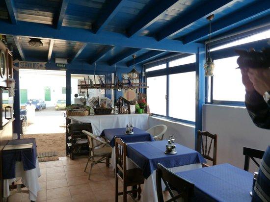 Restaurante Sol: внутри