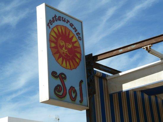 Restaurante Sol: вывеска