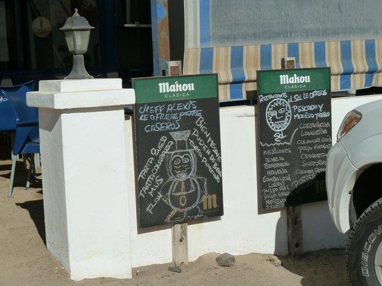 Restaurante Sol: снаружи