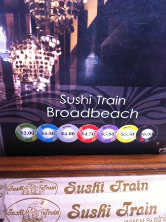 Sushi Train: inside the restaurant