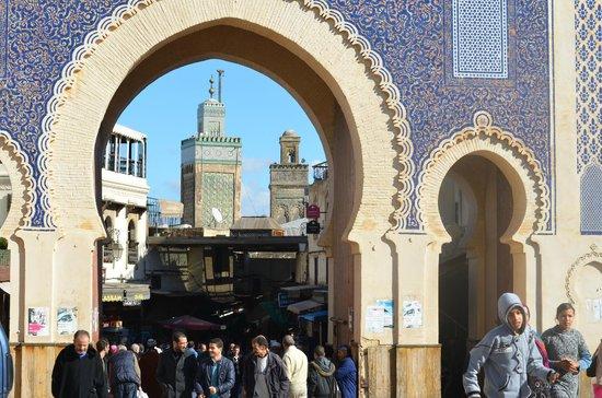 Bab Boujloud : Vista minareti moschee interne