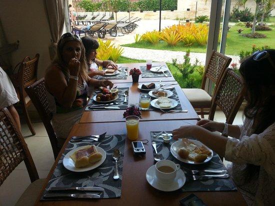 Wellness Beach Park Resort: Café da manhã