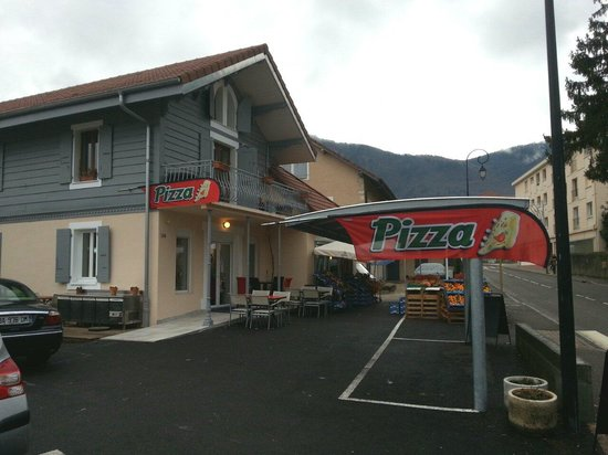 Collonges-sous-Saleve, France: Pizzeria