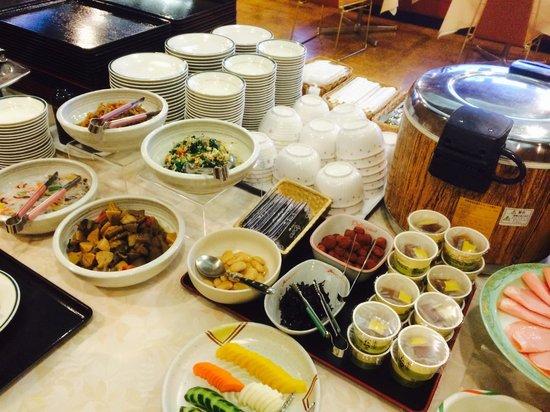 Hotel Sunroute Tokuyama : colazione