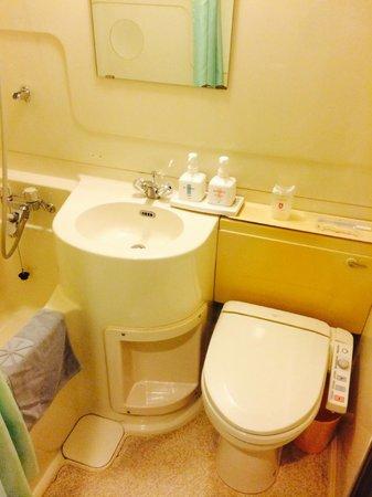 Hotel Sunroute Tokuyama: water giapponesi