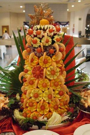 Hotel Riu Monica: New years dinner