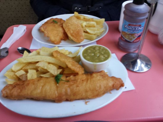 Grandma Pollards Chippy: Lunch for two