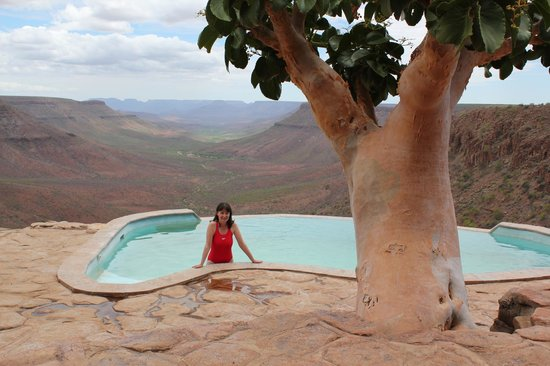 Grootberg Lodge : Infinity pool