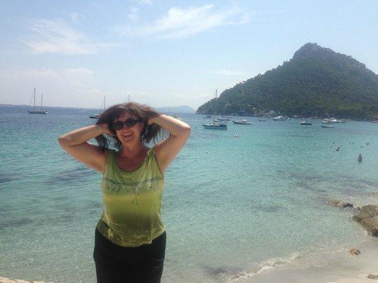 Cap de Formentor: Бухта Форментор, кристально чистая вода