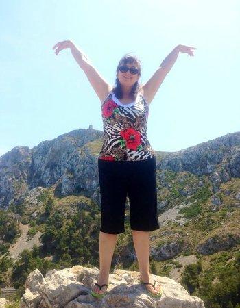 Cap de Formentor: Вид на горы Трамунтанта