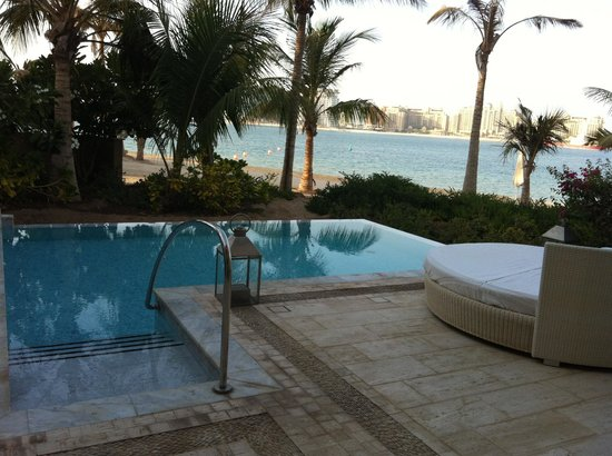 junior suite private pool - Picture of One&Only The Palm ...