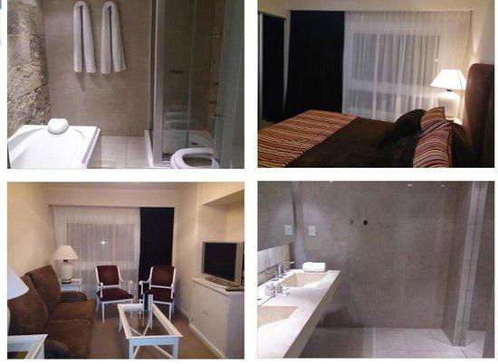 Hotel Patagonia: Edité cuatro fotos de la suite