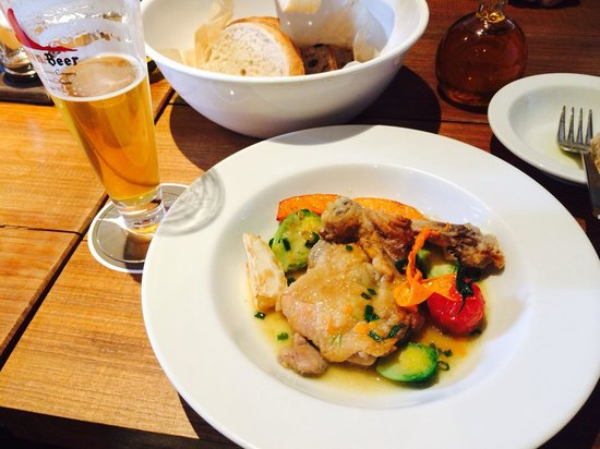 MOKICHI CRAFT BEER : お肉のランチ。