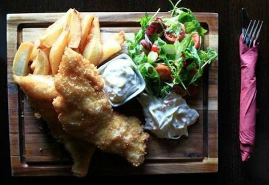 The Mill Inn: Haddock & Chips