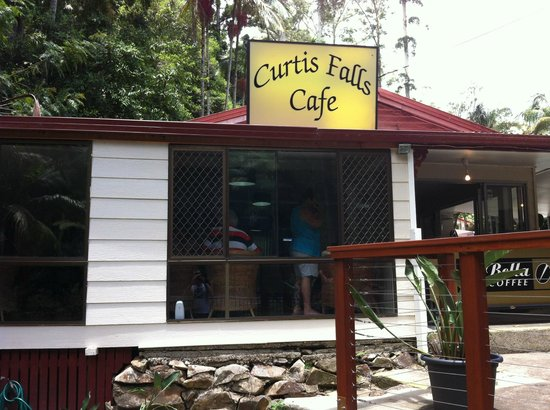 Curtis Falls Cafe: outside view