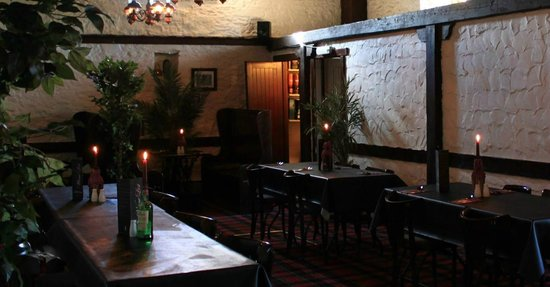 The Mill Inn: Upstairs restaurant can also be used for functions, max 60 people